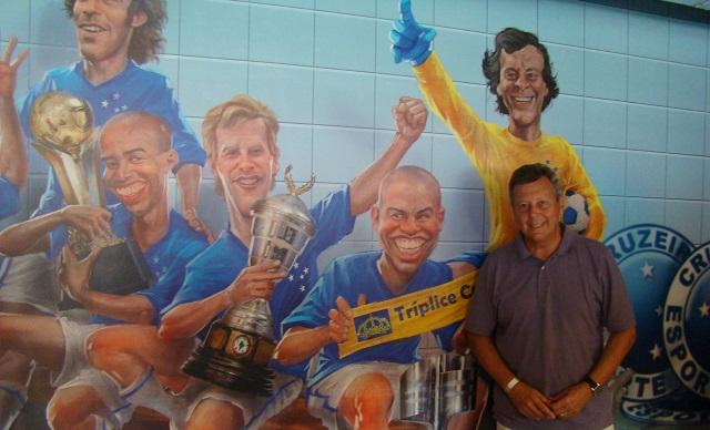 Raul está eternizado na história do Cruzeiro