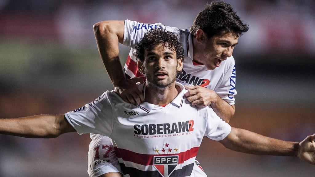 Willian José brilhou em alguns jogos do São Paulo em 2012