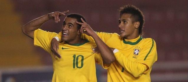 Lucas não deverá repetir dupla com Neymar na Copa