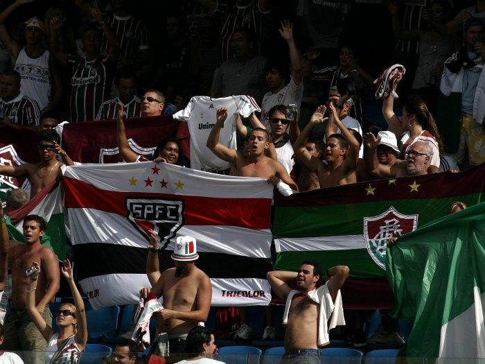 São-paulinos torceram pelo Fluminense em jogo suspeito do Brasileirão de 2010