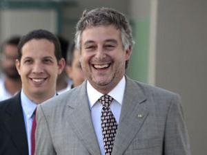 Paulo Nobre e seu assessor, ex-MSI
