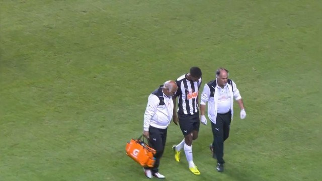 Jô se machucou no Galo e tem se poupado para a Copa
