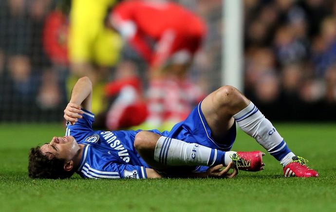 Oscar está sofrendo com lesões na coxa