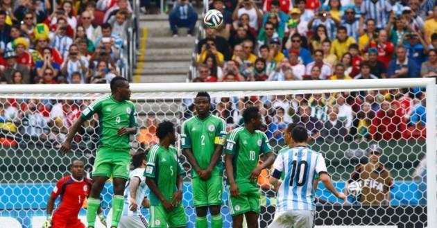 Messi fez dois gols na vitória sobre a Nigéria por 3 a 2