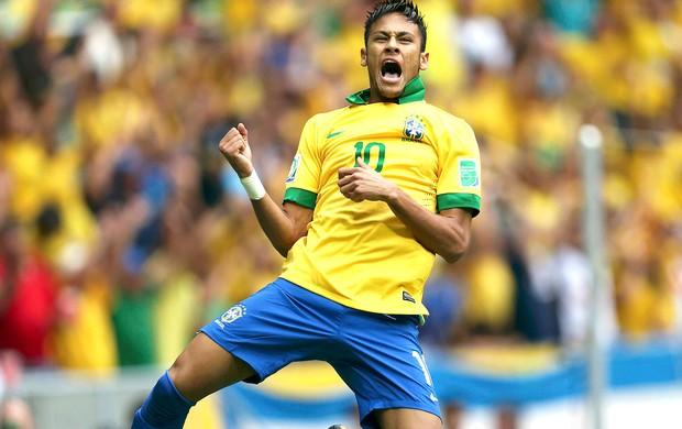 Neymar é o grande nome do Brasil para a Copa