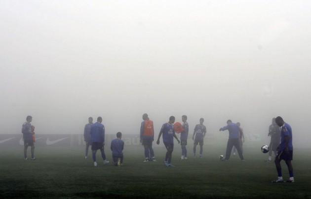 Brasil se preparou no frio de Teresópolis para jogar em lugares quentes como Brasília, Fortaleza e Salvador