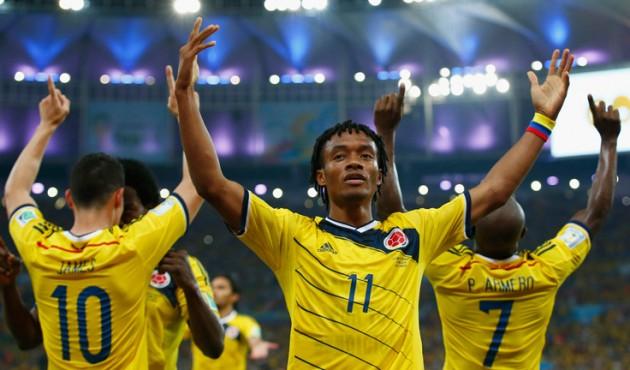 Cuadrado é um dos destaques da Colômbia no Mundial