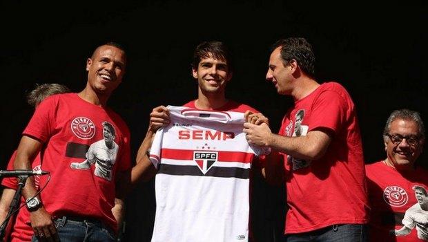 Kaká está de volta ao Tricolor após mais de uma década na Europa