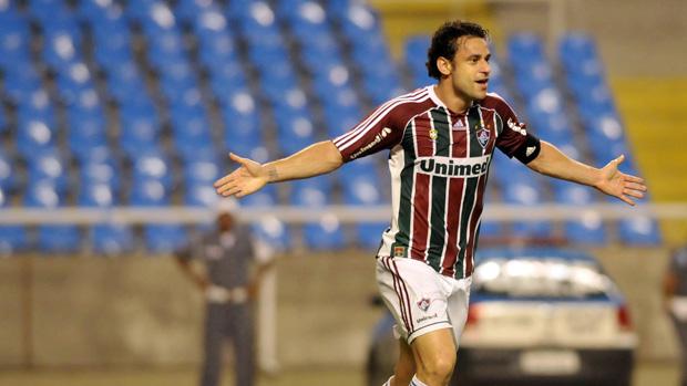 Fred tem 199 jogos e 122 gols pelo Fluminense