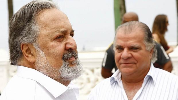 Atual presidente do Santos, Odílio Ribeiro foi vice da administação do antecessor Luis Álvaro