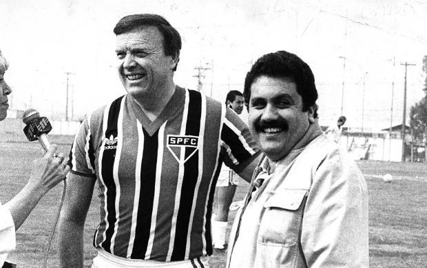 A relação de José Maria Marin com o Tricolor é de longa data