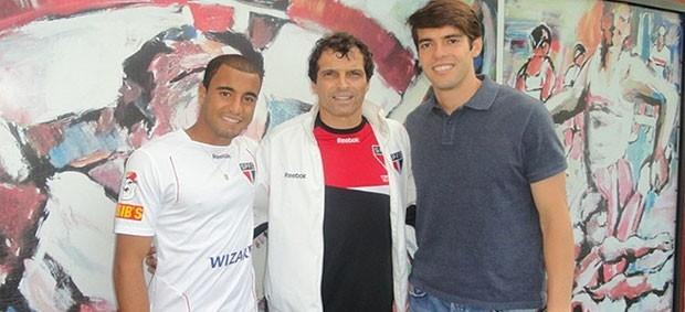 Milton Cruz revelou Kaká e Lucas para o São Paulo