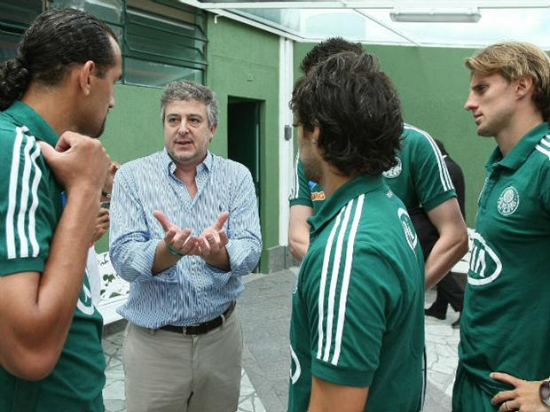 Nobre 'perdeu' alguns dos principais jogadores do Palmeiras