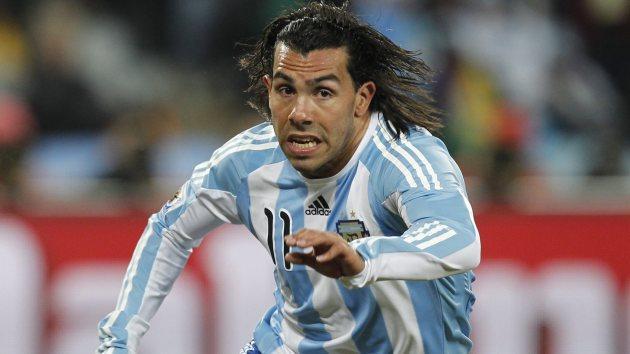 Última aparição de Tevez na Seleção tinha sido na Copa América de 2011