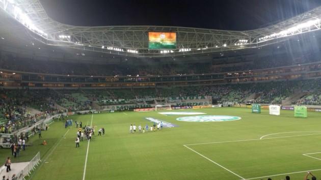 Palmeiras perdeu para o Sport na estreia do novo Allianz Parque