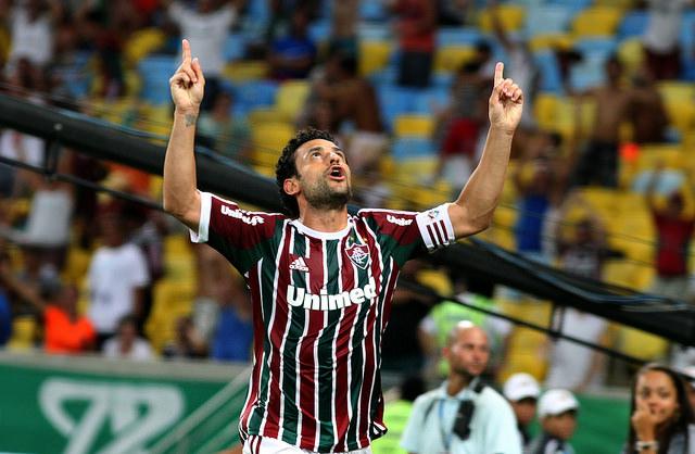 Após a Copa o Fred marcou 12 gols em 18 jogos pelo Fluminense