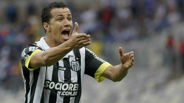 Leandro Damião fez 11 gols em 44 jogos pelo Santos