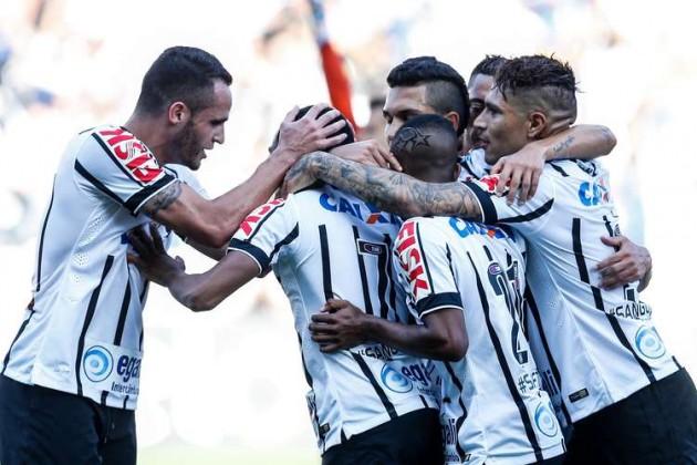 Elias fez o 1º gol da vitória contra o Criciúma por 2 a 1