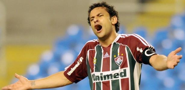 Fred é o sétimo maior goleador do Fluminense com 136 gols