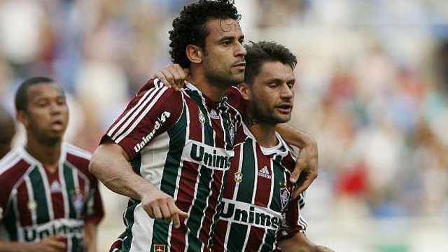 Fred e Sóbis foram campeões cariocas e brasileiros pelo Fluminense em 2012