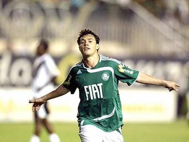 Kléber arrebentou em sua primeira passagem pelo Verdão em 2008