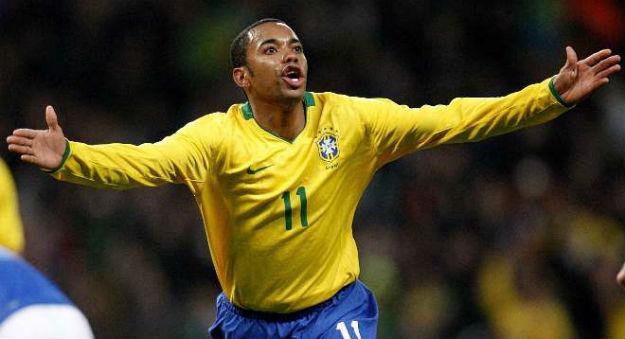 Robinho foi destaque da Seleção Brasileira na Copa da África