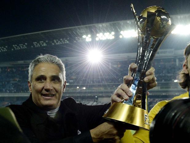 Tite liderou o Corinthians no título do Mundial de Clubes em 2012