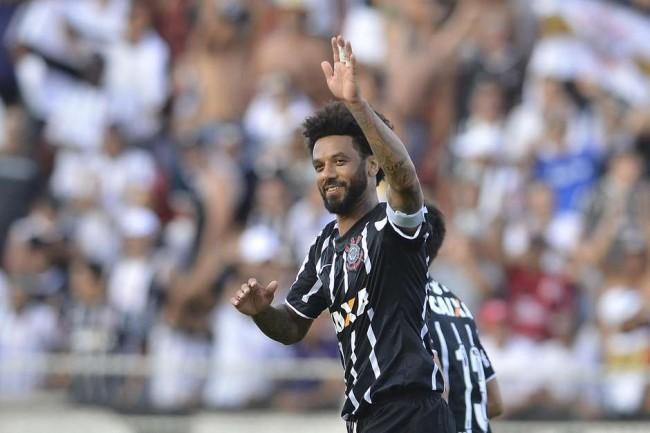 Cristian fez o gol do empate do Timão em Itú