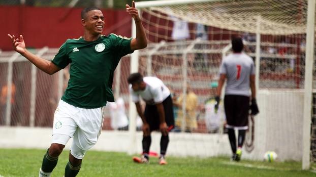 Em 1 ano e meio o atacante Gabriel tem mais de 100 gols na base do Palmeiras