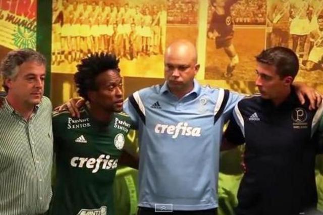 """Zé Roberto """"pregou"""" antes da estreia do Palmeiras no Paulistão"""