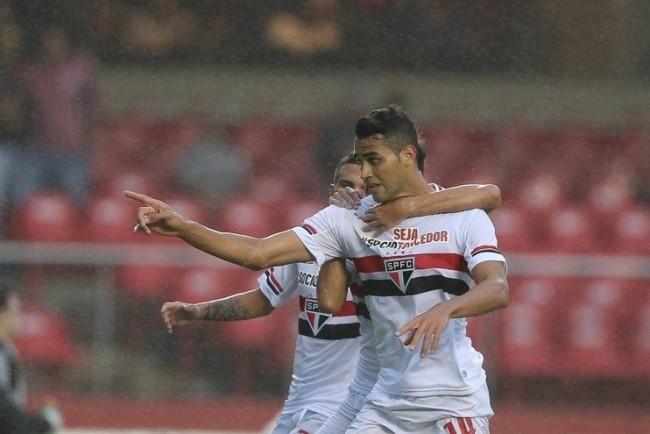 Alan Kardec comemora seu 7º gol no Paulistão