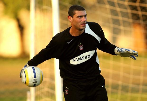 Silvio Luiz treinando pelo Corinthians em 2006 a2cce5958882c