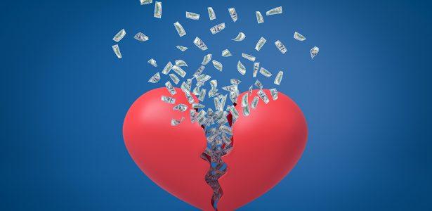 Golpe Do Amor Coração Partido E Conta Bancária No Vermelho