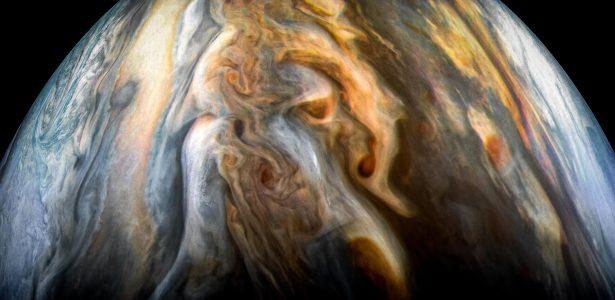 Dados da sonda Juno   Descoberta em Júpiter pode revelar origem da água no Sistema Solar