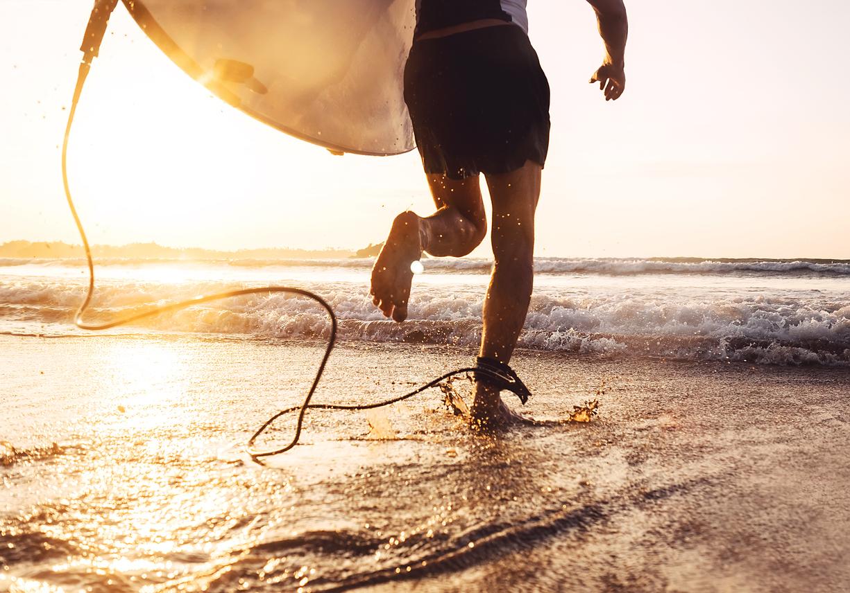 Areia é uma boa aliada na preparação física