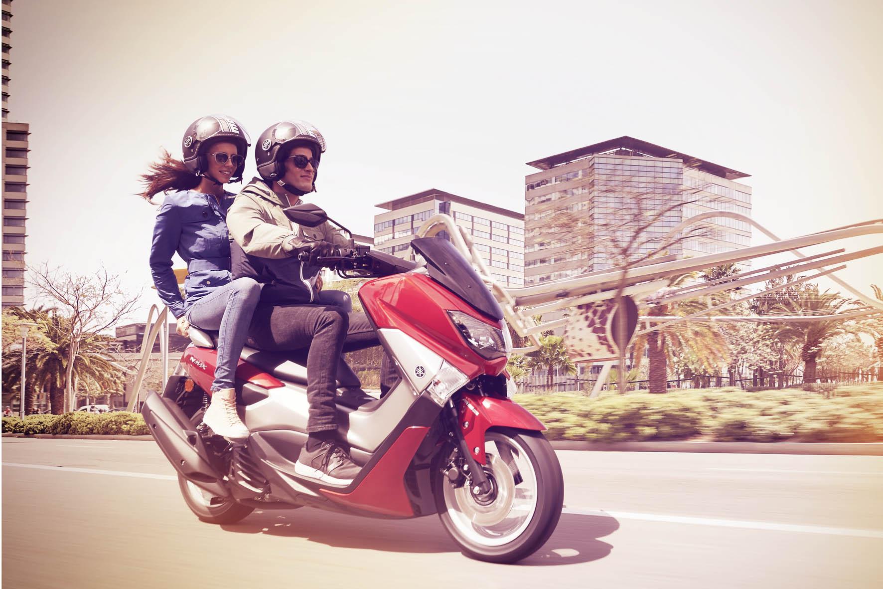 » Scooter Yamaha NMax e naked MT-03 chegam em maio ao