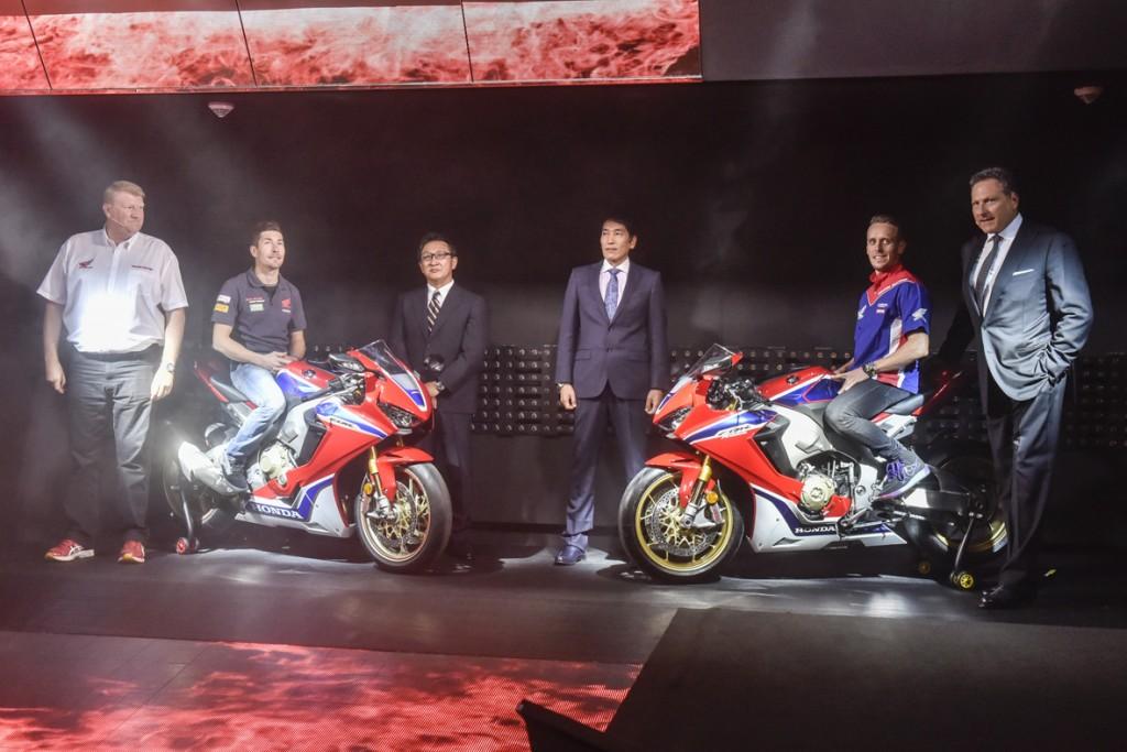 Pressekonferenz Honda, CBR 1000 RR Fireblade, Halle 9