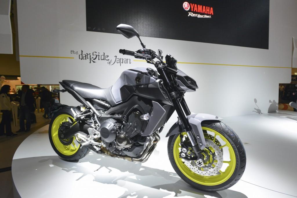 Pressekonferenz Yamaha, Yamaha MT09, Halle 6 A72