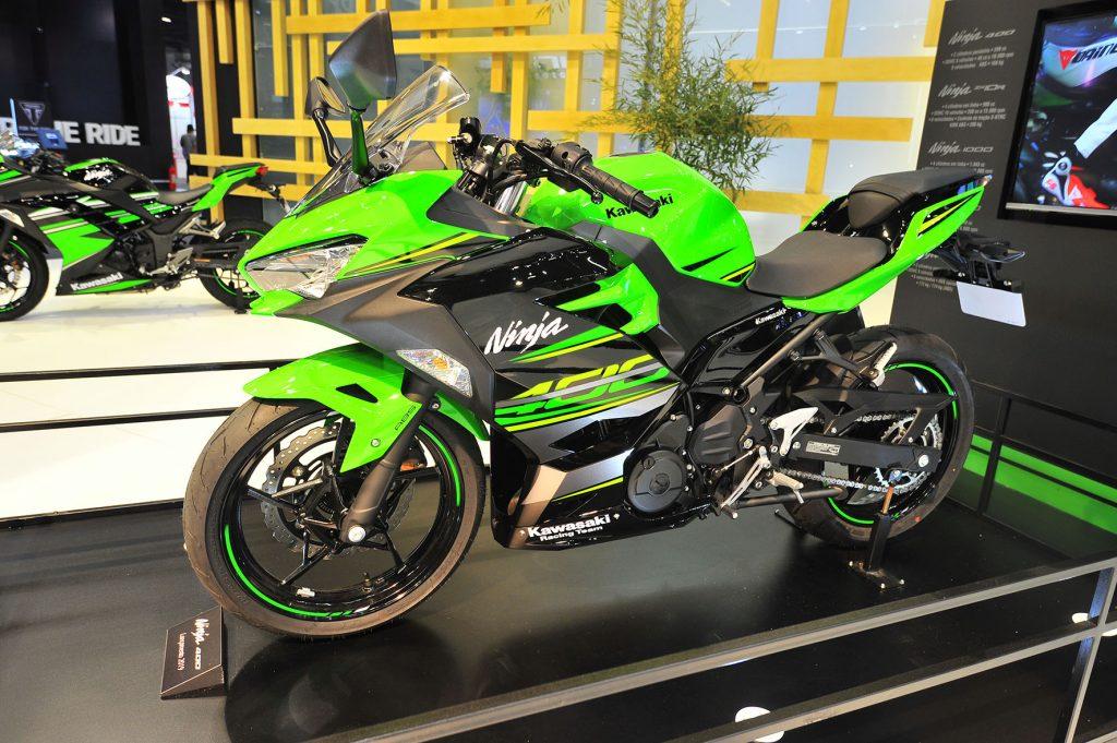 Kawasaki Confirma Vinda Da Nova 400 Cc Para Substituir A Ninja 300
