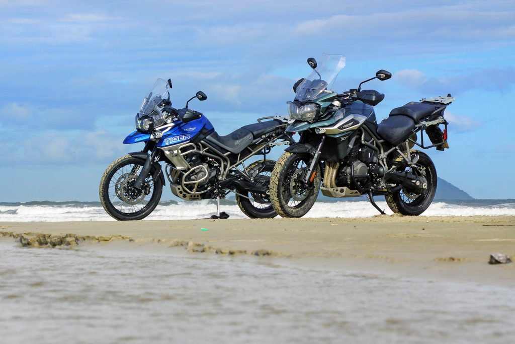 Novas Triumph Tiger 800 e 1200 chegam ao Brasil