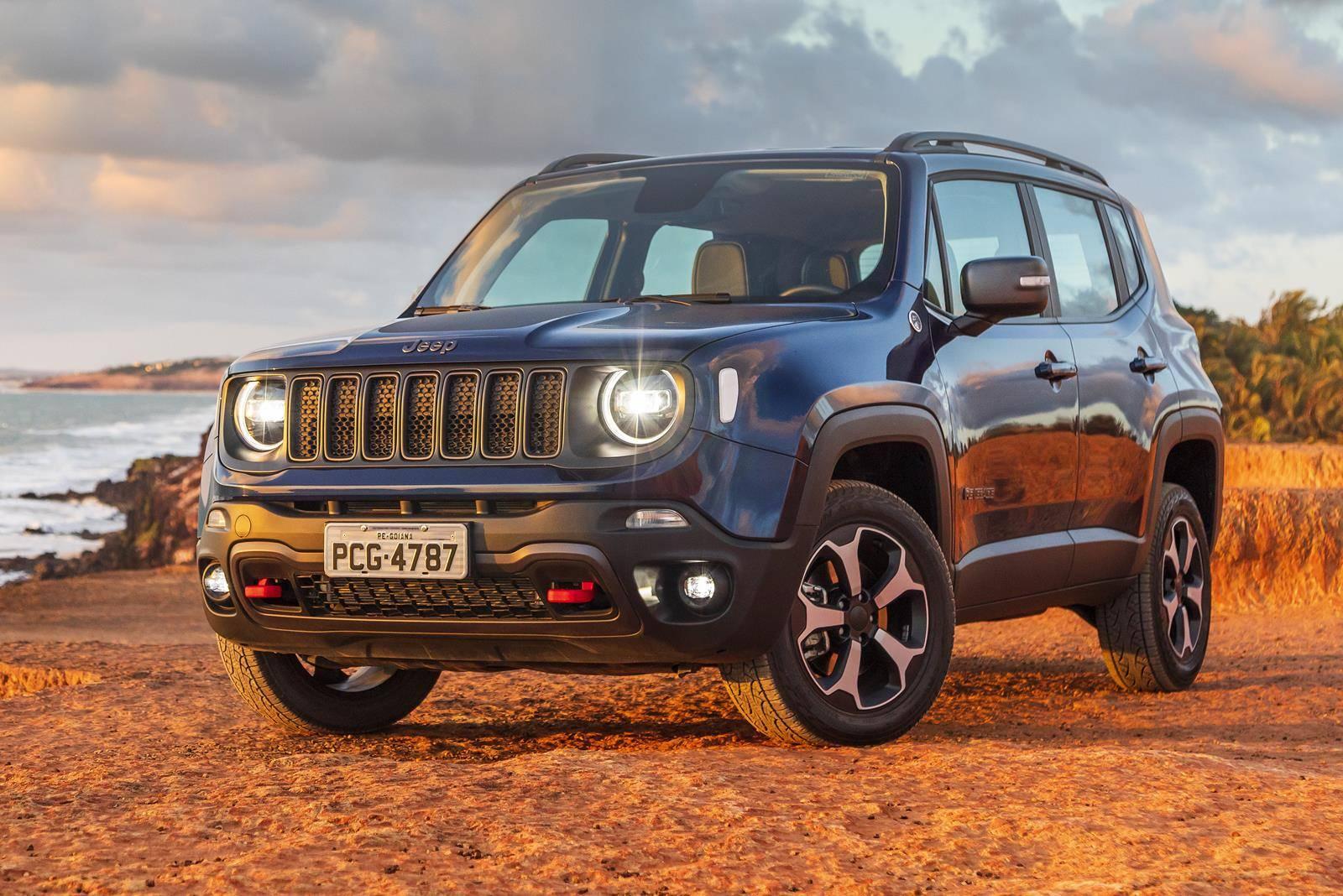 37e3c01aef0 O Jeep Renegade confirmou o bom desempenho que registrado na quinzena e  fechou o mês como o sexto carro mais vendido no Brasil