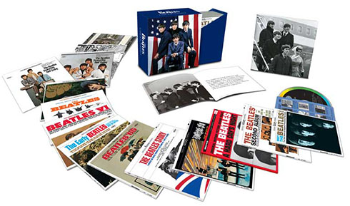 The Beatles US Albums Cover Artwork