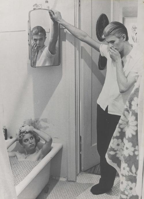 colagem feita por Bowie
