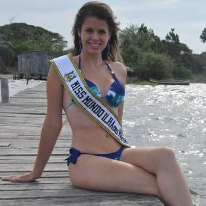 Miss Ilha dos Marinheiros World, Maria Lua Streit (Divulgação)