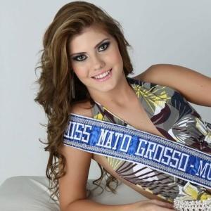 Miss Mato Grosso World, Angela Trampusch, 18 (Divulgação)