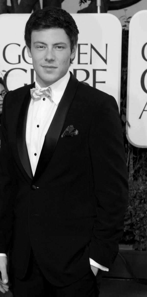 Adeus, Cory Monteith, para sempre Finn