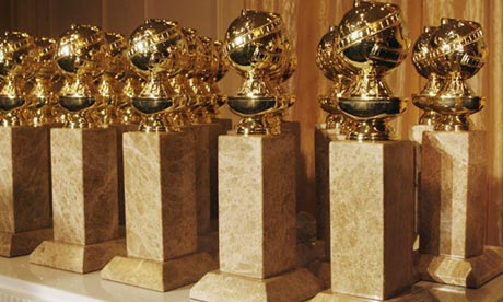 Golden Globe statues