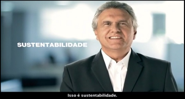 Deputado Ronaldo Caiado associa agronegócio à sustentabilidade durante o programa do DEM