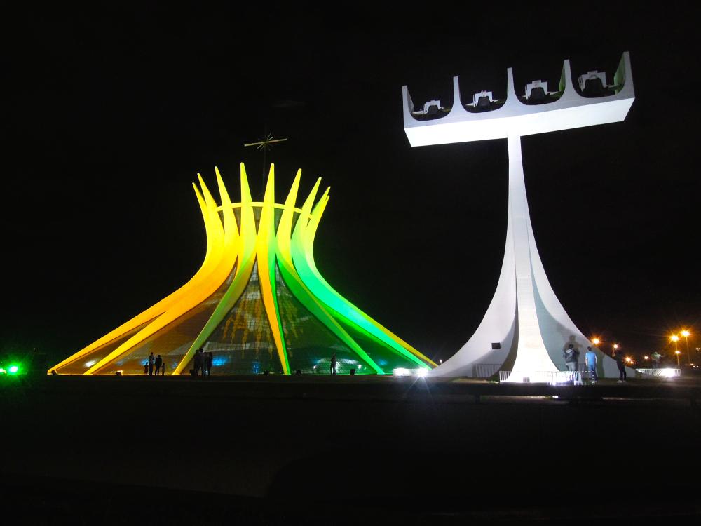 Catedral de Brasília - 7.jun.2014 - foto: Fernando Rodrigues