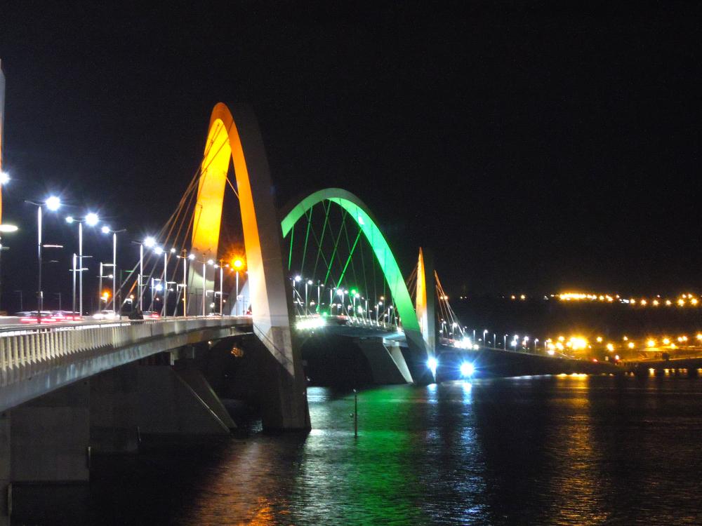 Ponte JK - 7.jun.2014 - foto: Fernando Rodrigues